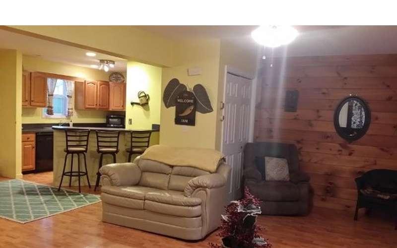 Ranch Living Room