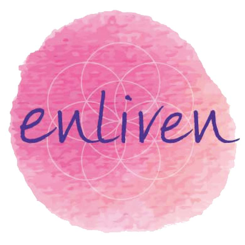 the logo for enliven