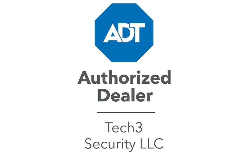 adt authorized dealer tech3 security llc logo