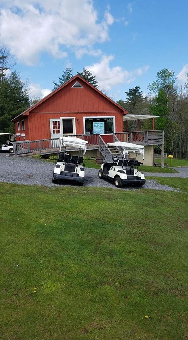 golf course club house