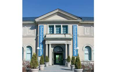 the entrance of berkshire museum