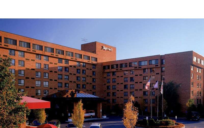 exterior of albany marriott