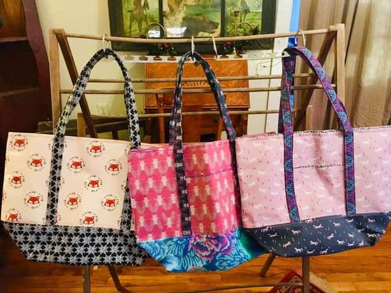 Saratoga Tote Bags!