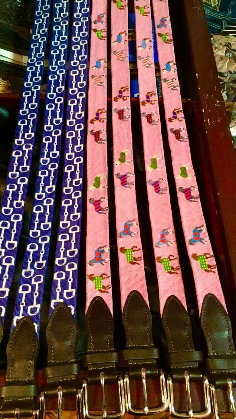 Beautiful Needlepoint Belts
