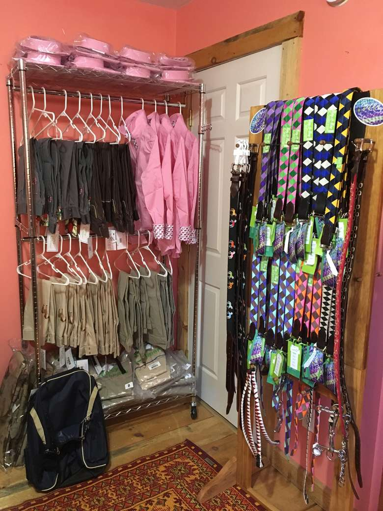 Boy O Boy Belts, Essex Classic Shirts and Embroidered Pony Children's Jodphers and Women's Brown Professional Breeches!