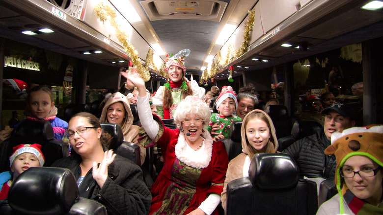 holiday bus ride