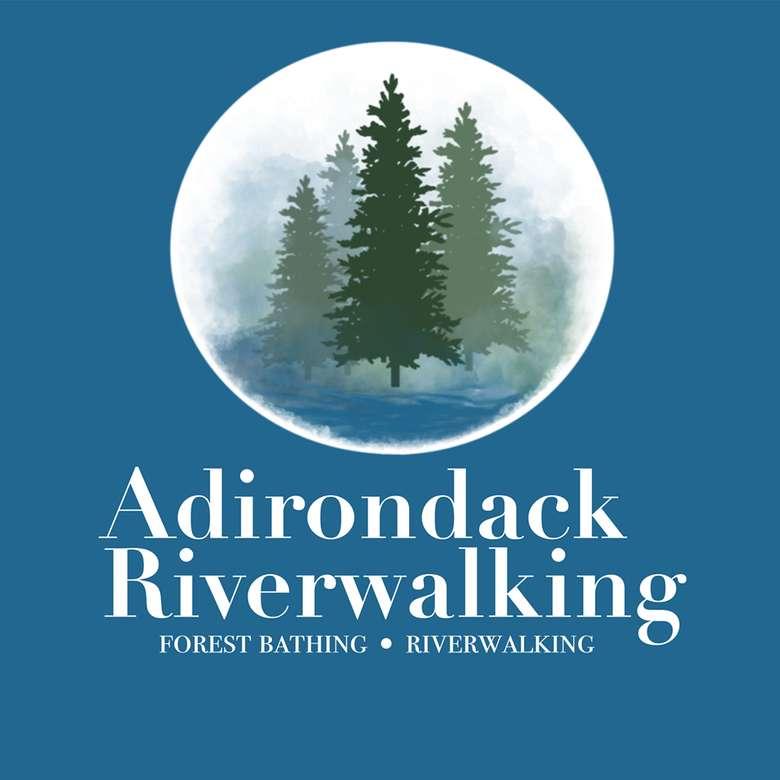 the logo for adirondack riverwalking