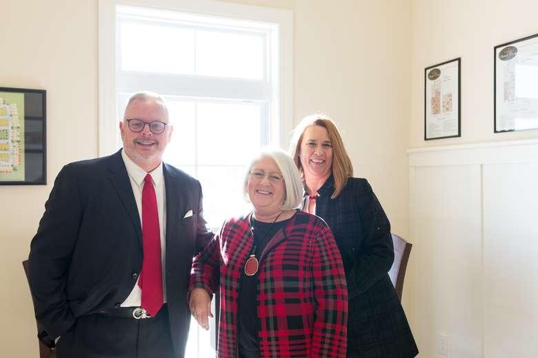 Don Smith, Mary Hannon & Stefanie McMahon
