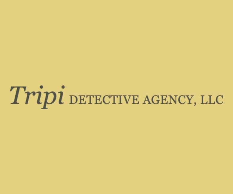 Tripi detective agency logo