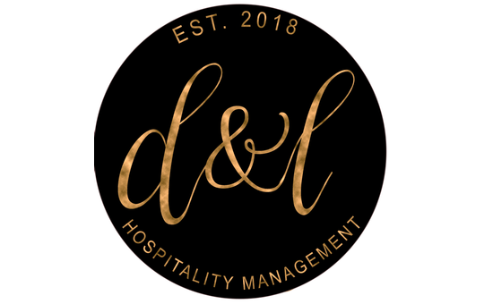 logo for hospitality management company