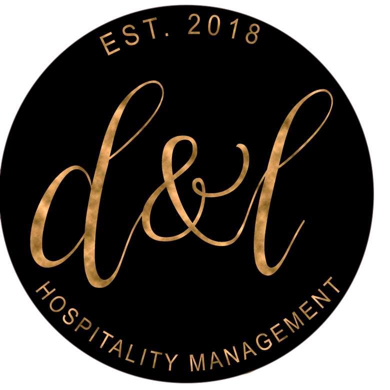 logo for hospitality management company