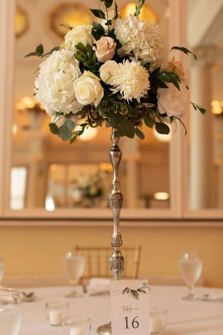 tall table floral