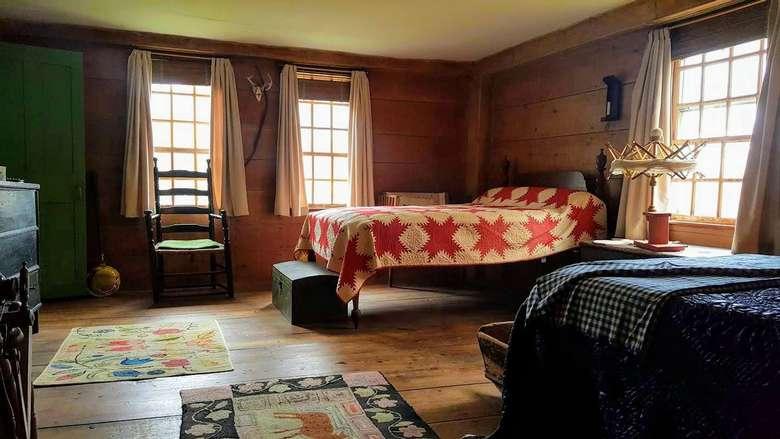 period bedroom