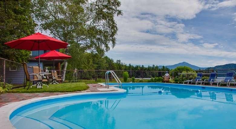 Our Lake view pool