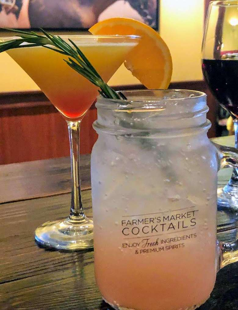 two different cocktails