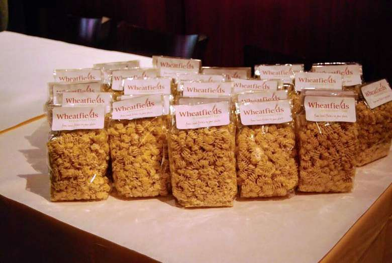 Wheatfields pasta packaged up