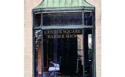 outside of barbershop