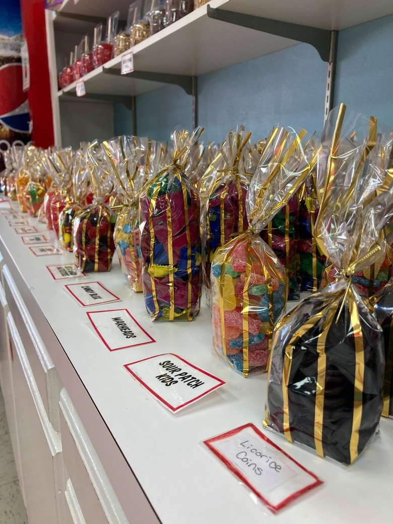 candy in cute bags