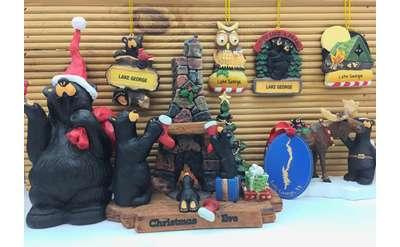 black bear ornaments