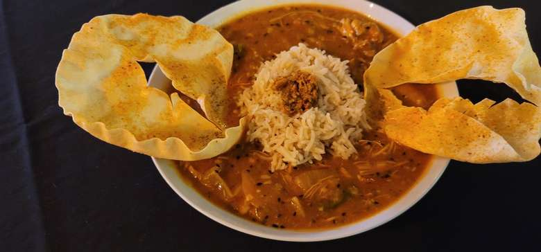 Cardamon Chicken Curry with Basmati