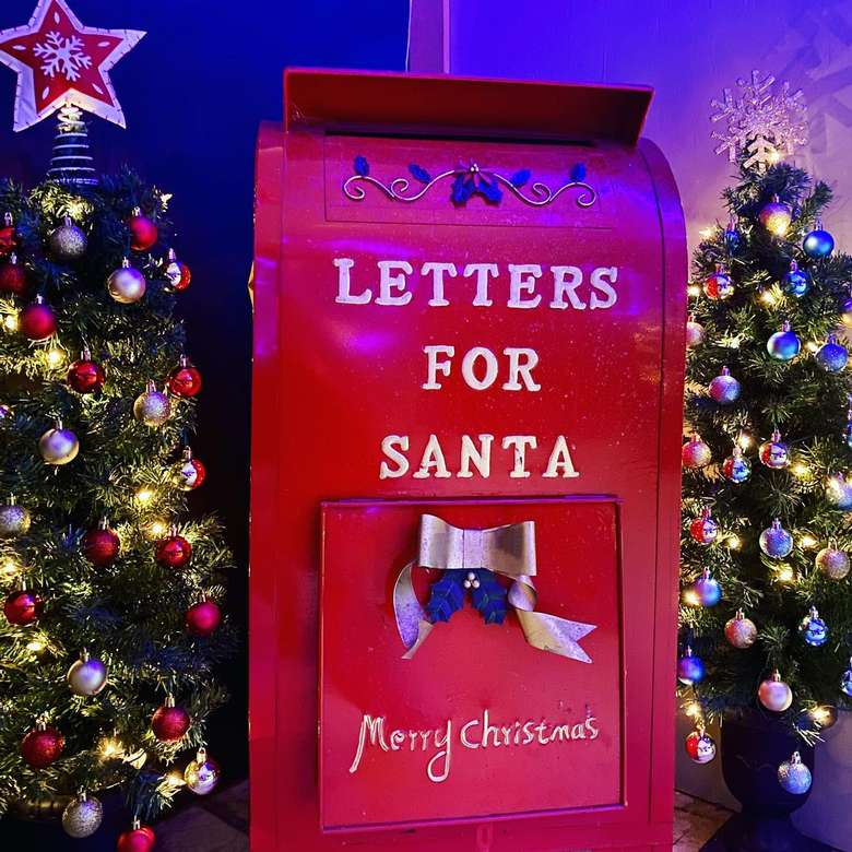 Letters for Santa mailbox