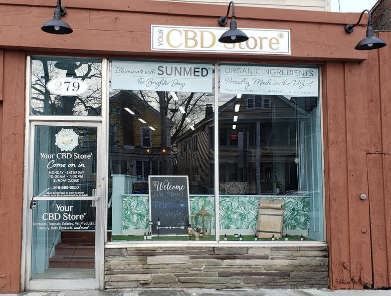 exterior of your cbd store