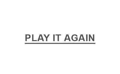 Play It Again logo