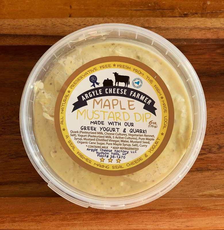 maple mustard dip