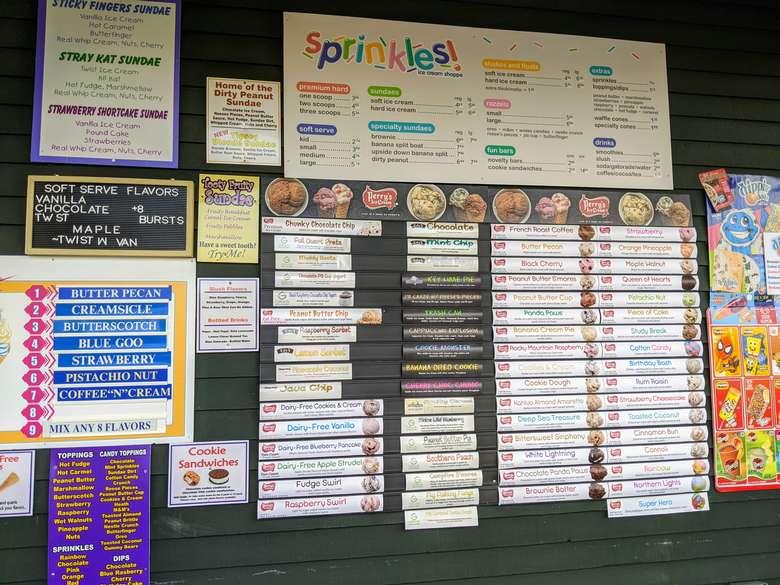 flavors board