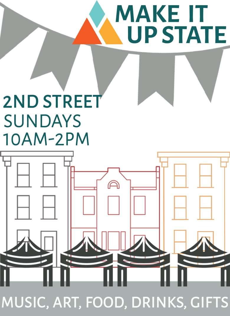 market flyer for Sundays in Troy