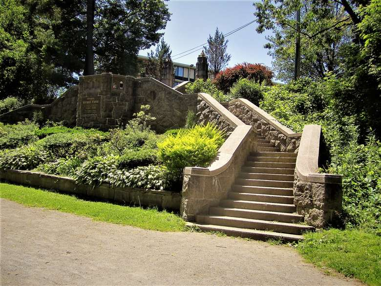 staircase in Congress Park