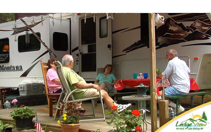 RV camping is a fun way to spend time with family and friends in the great outdoors.