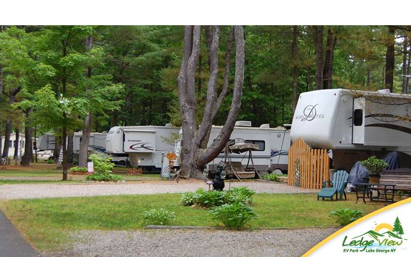 Ledgeview is a family-friendly RV campground featuring fully-equipped sites.