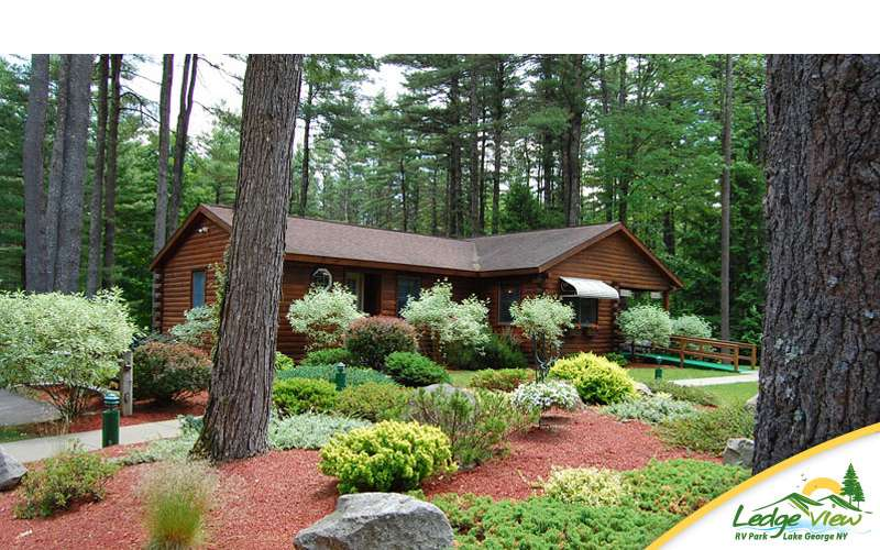 Ledgeview offers peace and privacy just a short drive away from Lake George Village.