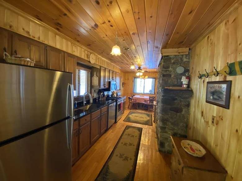 Lake House Kitchen renovated 2020