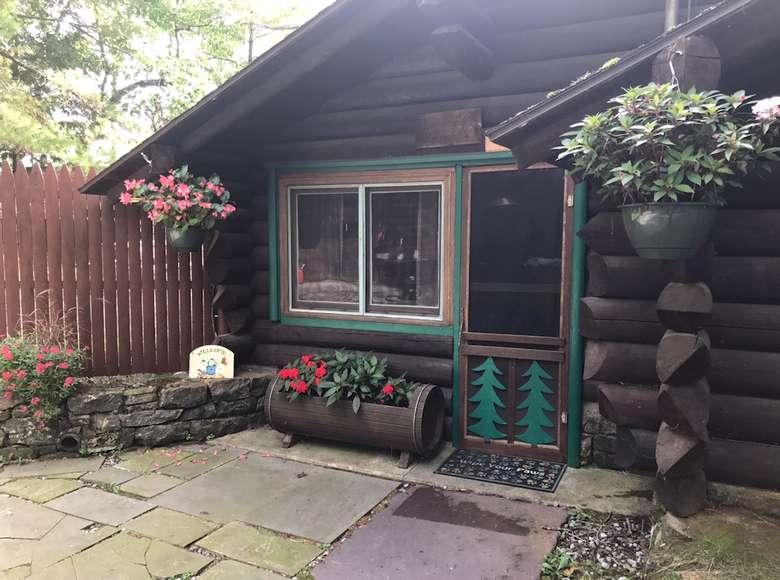 Irish House entrance