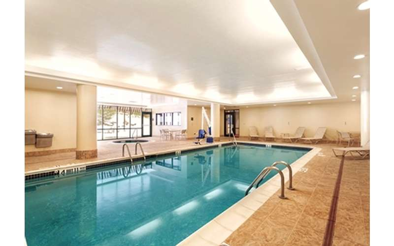a long indoor pool
