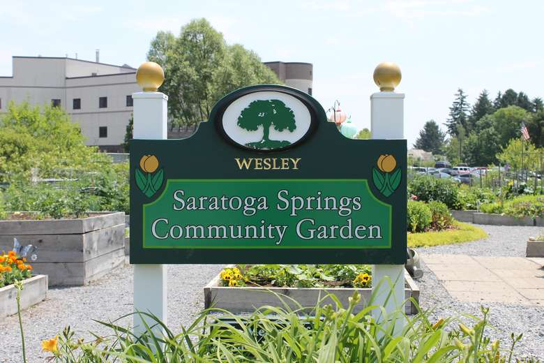 Welcome to The Saratoga Community Garden at Wesley