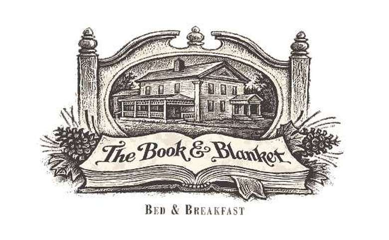 the book and blanket logo