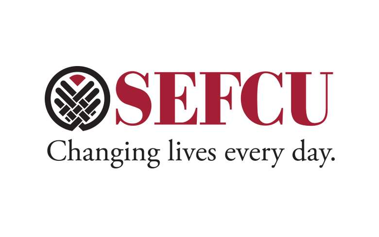SEFCU Logo Changing lives every day.