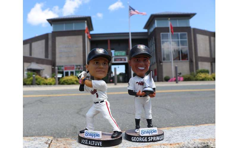two bobbleheads