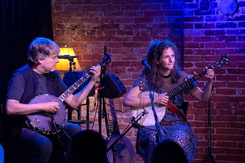 Bela Fleck & Abigail Washburn, July 2019