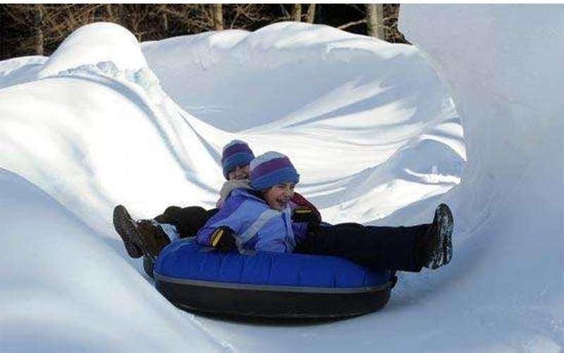 Snow Tubing Fun!