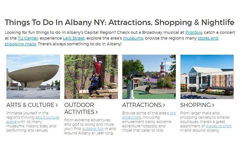 albany.com activities