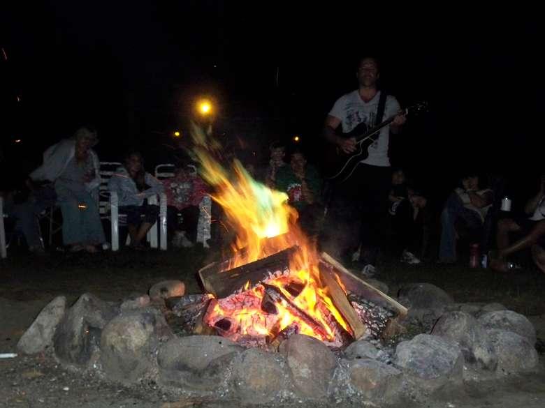 a bon fire