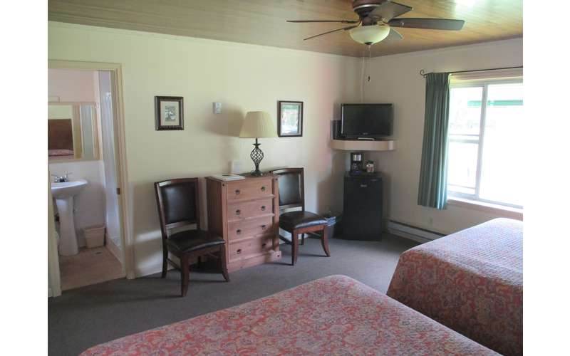 One of the Motel Rooms