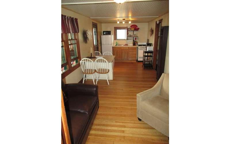 Interior of #3 Cottage