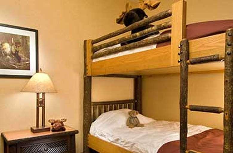 adirondack style bunk beds