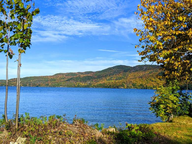 Silver Bay has a mile of shoreline on beautiful Lake George
