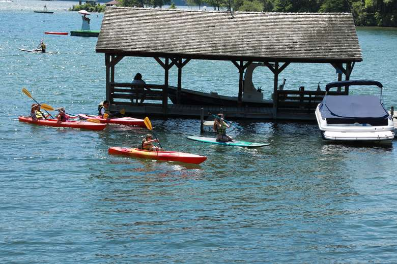 Enjoy fun program activities on one of the cleanest lakes in America